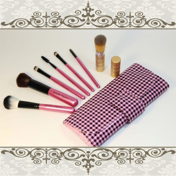makeup brush set and retractable brush 1