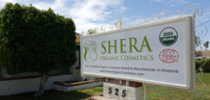shera organic cosmetics office